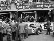 <h5>NOJ393 at Le Mans 1953</h5><p>Start position</p>
