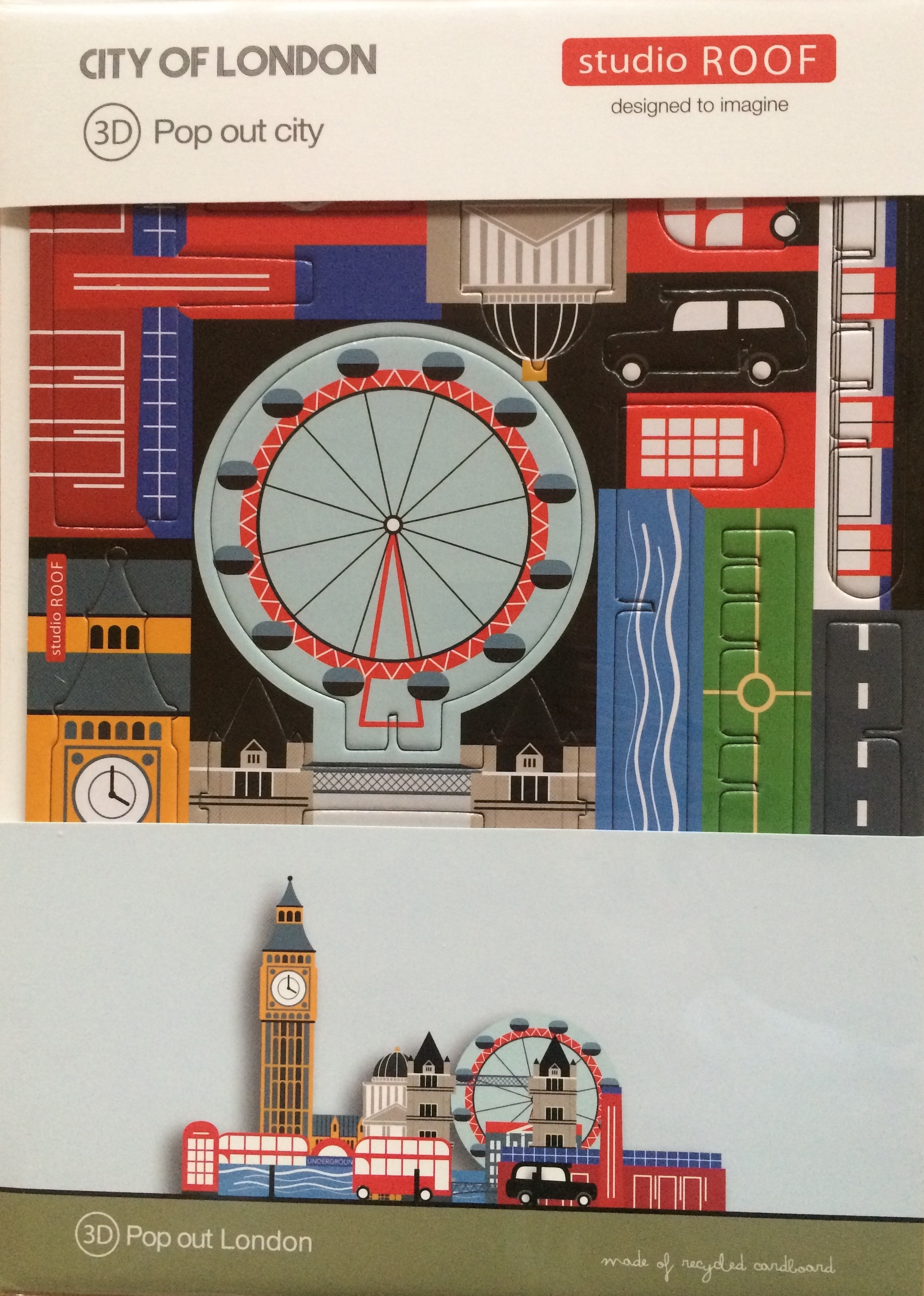 London City - cardboard pop out