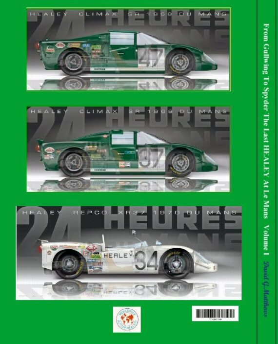 Le Mans Book Cover REAR