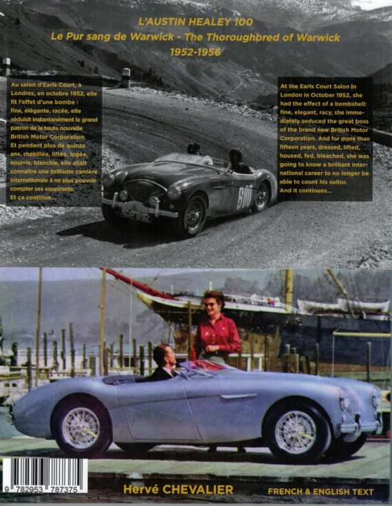 L'Austin Healey 100 1952-1956